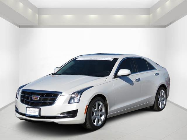 Certified Pre Owned 2016 Cadillac Ats Sedan Standard Rwd