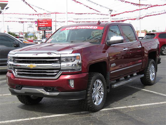 Pre Owned 2016 Chevrolet Silverado 1500 High Country
